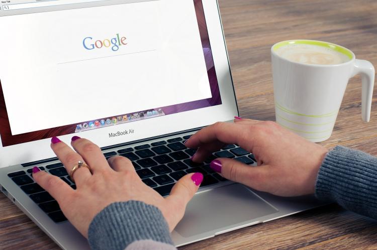 Ecran Google