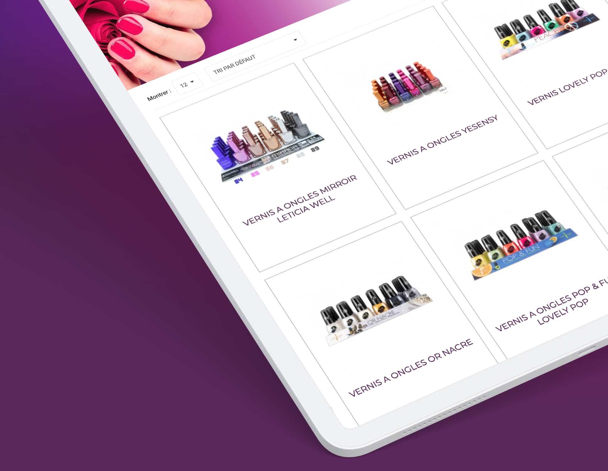 Refonte Prestashop Passion Cosmetics par Webperfect