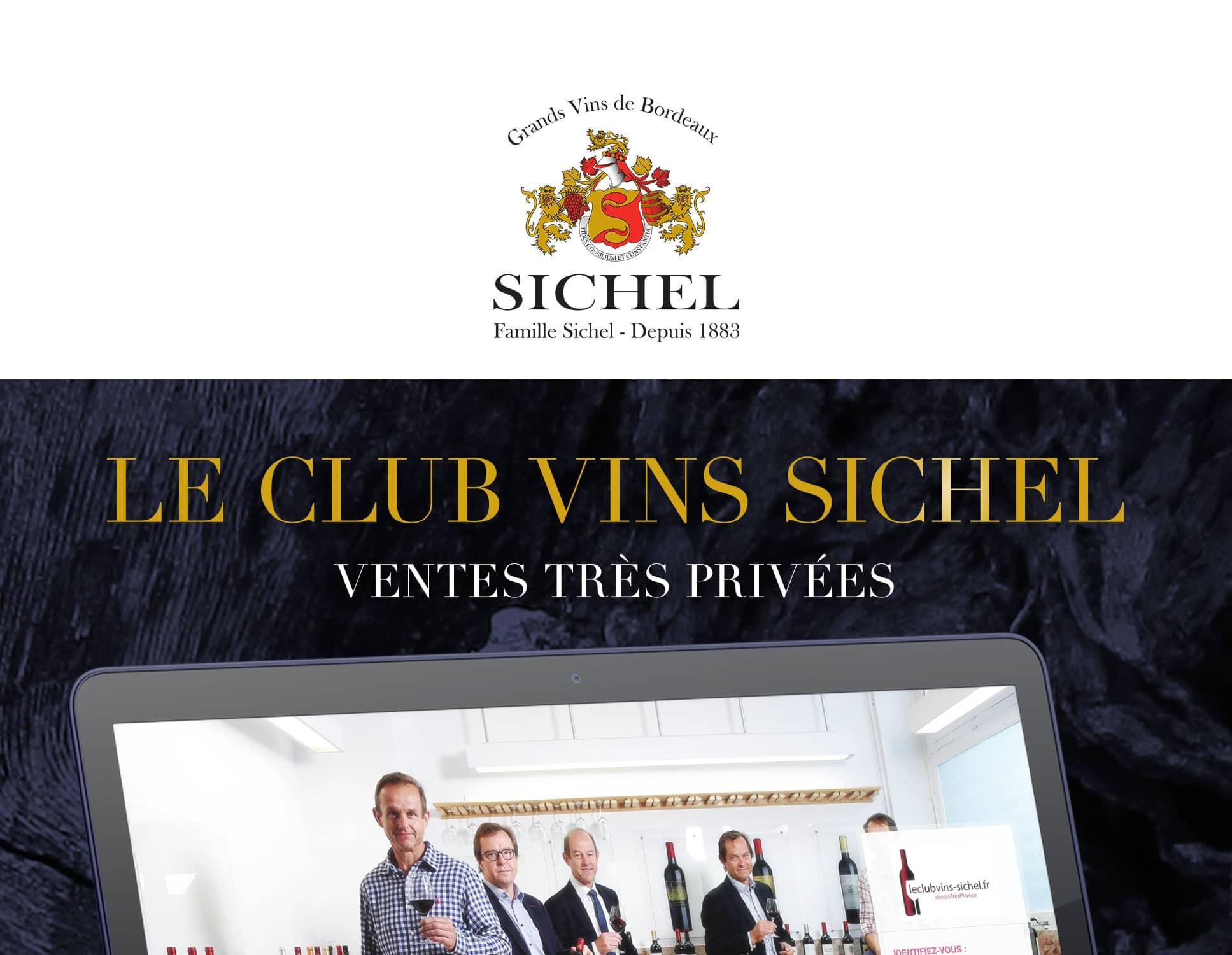 Vins Sichel - Projet Web