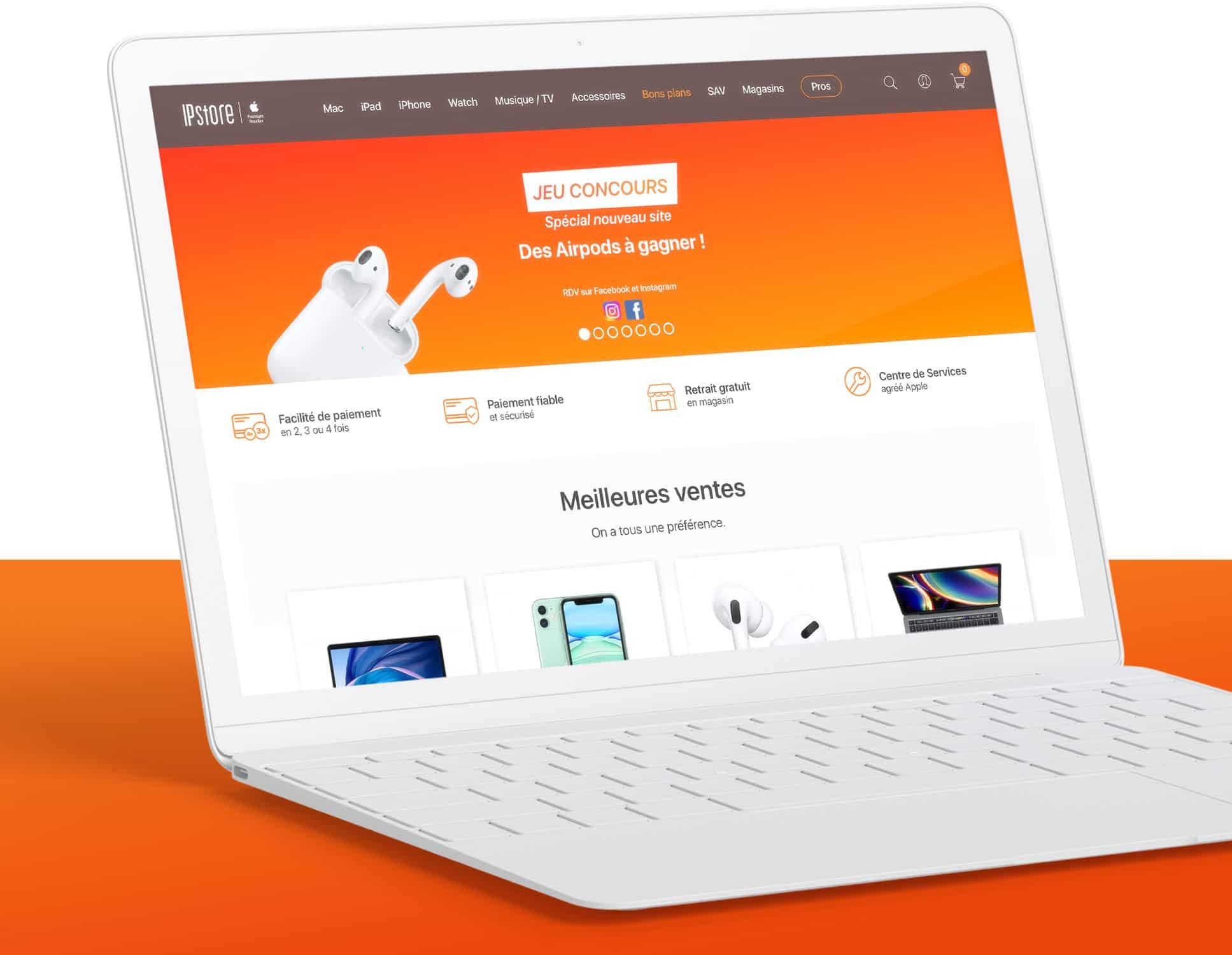 IP Store : Projet Prestashop par Webperfect