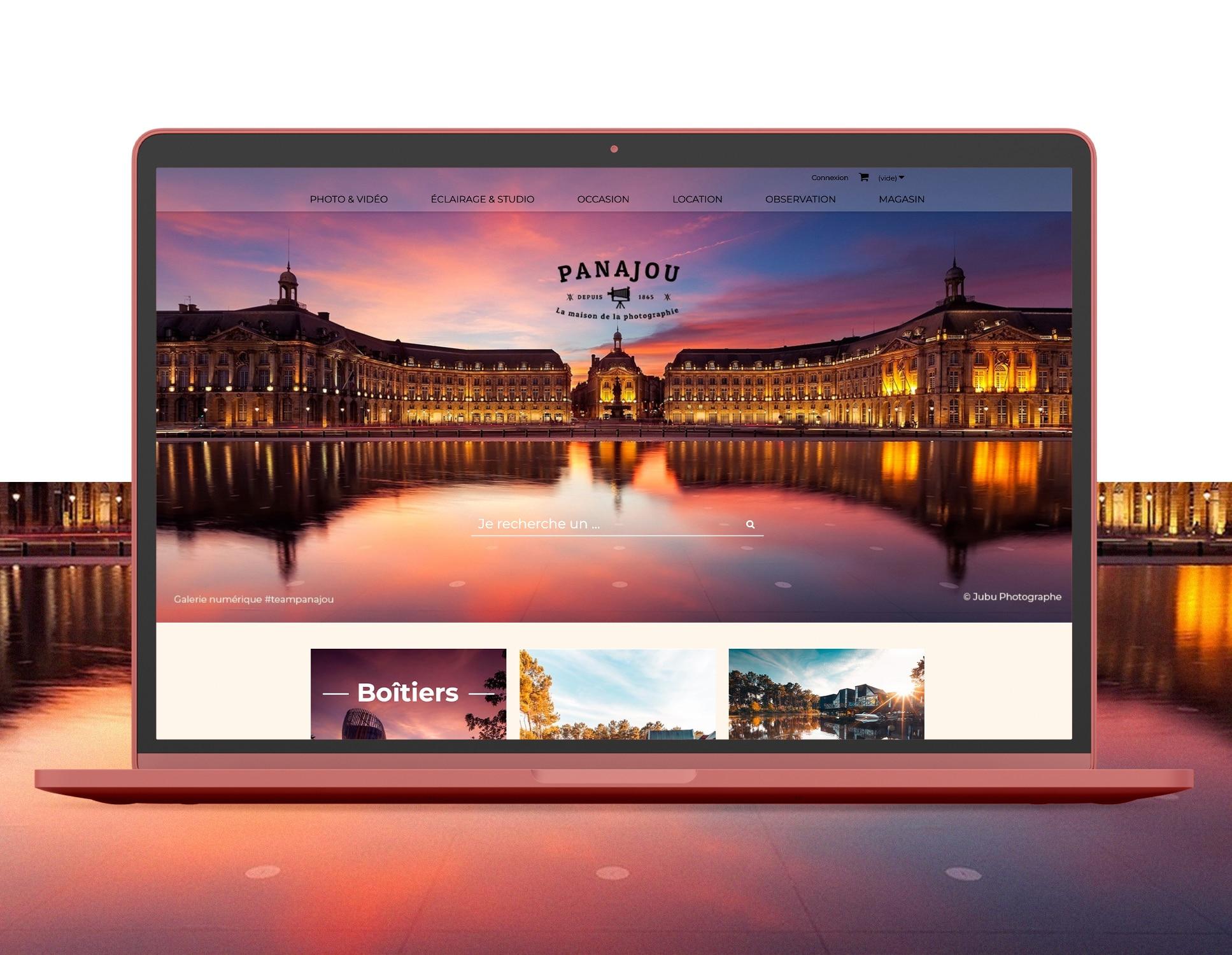Panajou Prestashop et Webmarketing par Webperfect